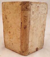 PUBLIO OVIDIO NASONE FASTORUM DE TRISTIBUS DE PONTO 1687 1692 PARMA TRISTA