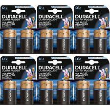 Lot de 12 Duracell puissance ULTRA TYPE D piles alcalines Duralock - 1.5V LR20