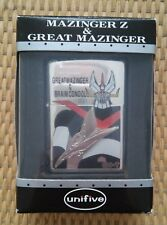 1999 Great Mazinger Z limited edition Zippo lighter from Japan - super rare!