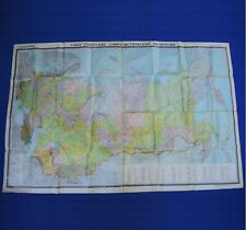 """Big Soviet Union Political Wall MAP USSR POSTER 1986 Russian Vintage 87""""=2.2m"""