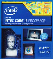 Intel Core i7-4770 Quad-Core Desktop Processor 3.4 GHZ  LGA 1150 8 MB Cache B...