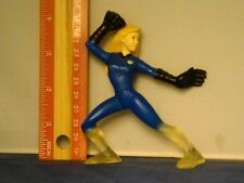 2007 Marvel Fantastic 4 Four Burger King Invisible Woman Female Hero Figure Rare