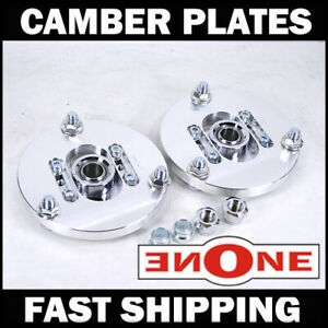 MOOKEEH Adjustable Camber Plates For Coilovers 10-15 Chevrolet CAMARO