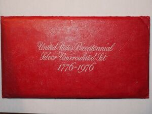 1776-1976 United Stated Bicentennial Silver Uncirculated Proof Set