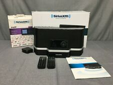 Sirius Xm Sxabb2 Satellite Radio Portable Speaker Dock + 2 Remote & Accessories-