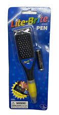 Lite Brite Pen 2001 Hasbro Stylus Item Miniature Game New in Package Stocking
