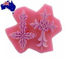 Cross Mold - Cross Mould 2 Designs Communion Christening Easter Cake Cupcake