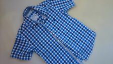 AMAZING JASPER CONRAN DEB BOY CHECKED SHORT SLEEVE SHIRT 9 YRS
