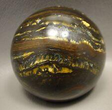 Tiger Iron Sphere Rock Stone Gemstone 2 inch 50 mm Australia #1