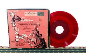 "Gems From Sigmund Romberg Shows, Volume 2, 1951, 4 x 7"" Box - Musical - NM Vinyl"