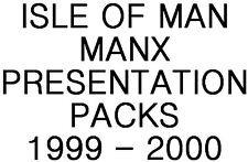 Isle of Man Manx Presentation Packs 1999 - 2000