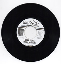 JACQUI WILLIAMS Real Love (Tom Moulton Mix) MODERN SOUL 45 PROMO (REAL SIDE) 7""