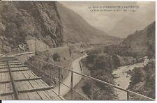 CPA 65 - camino de pierrefitte en cauterets - El Puente del Camino de hierro