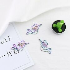 Rainbow Paper Cilp Mermaid Shaped Paper Clips Great For Paper Clip Office Tool
