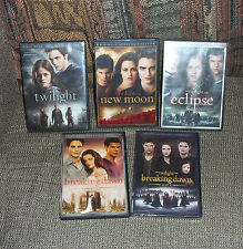 Twilight + New Moon Eclipse Breaking Dawn Part 1 & 2 DVD's Special Editions