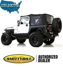 Smittybilt Premium Replacement Soft Top 97-06 Jeep Wrangler TJ 9974235 Black