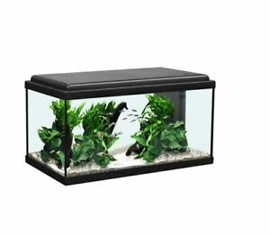 Aquatlantis Aquarium Advance LED 60, weiß + schwarz