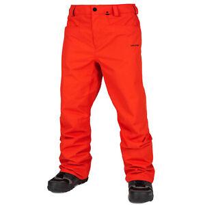 VOLCOM Mens 2020 Snowboard Snow CARBON PANT Orange