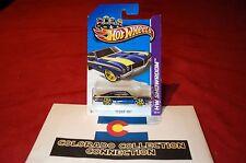 Hot Wheels - '70 Buick GSX - 2012 Muscle Mania GM - 109/247 1:64 Dark Blue