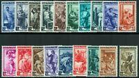 Repubblica - 1950 - Italia al Lavoro - Serie completa nuova - MNH nn.634/652