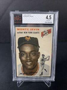 1954 Topps Monte Irvin #3 BVG 4.5 HOF