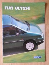 FIAT ULYSEE orig 1996 1997 UK Mkt sales brochure