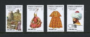 C406  Turkey  2003  Conquest of Constantinople   4v.    MNH