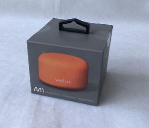 Veho Bluetooth Portable Wireless Portable MX Speaker - Orange BRAND NEW