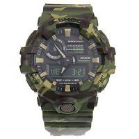 Casio G-Shock  Men's GA700CM-3A Green Camo Digital Rubber Watch