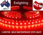 1M NEW SMD 3014 RED LED STRIP LIGHT FLEXIBLE 12V WATERPROOF STRIPLIGHT