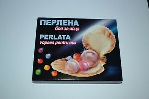 5 Colours Gelatine Pearl Paint Dye Painting Decorate Easter Eggs Craft Art