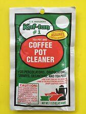 Kaf-Tan #1 Tea Pot & Coffee Pot Cleaner - Perculators. carafes, decanters