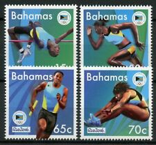 Bahamas Olympics Stamps 2016 MNH Summer Olympic Games Rio Sports 4v Set