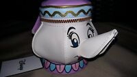 Disney Beauty And The Beast Mrs Potts Teapot Purse/Container New