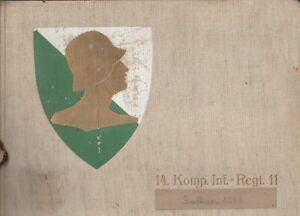 Fotoalbum 2 WK 14.Komp.Inf.Regt 11 Balkan