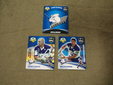 2007 RUGBY LEAGUE CLASSIC TAZO  TEAM SET - CANTERBURY BULLDOGS