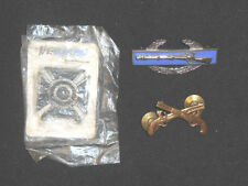 LOT OF 3 SHARPSHOOTER BADGES INCLUDING A STERLING SILVER BADGE**