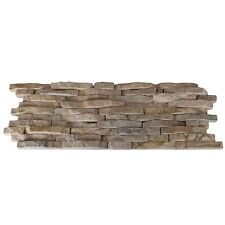 Split Face Mini Mosaic Tile Ledge Beige Stone (échantillon)