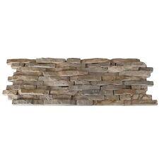 Split Face Mini Mosaic Tile Ledge Stone Beige  ( SAMPLE )