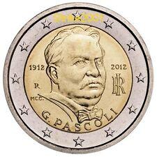 2 EURO COMMEMORATIVO ITALIA 2012 PASCOLI