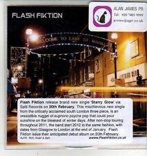 (CW672) Flash Fiktion, Starry Glow - 2012 DJ CD
