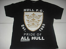 Hull Fc Football England Uk Rugby Logo Crest Soccer T Shirt Small Nice
