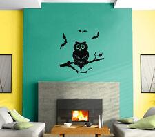 Owl Night Bird Ghost  Kids Funny  Mural Wall Art Decor Vinyl Sticker z458