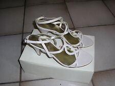 Sandalettes femme à talon beige, André, portées 1 fois T39