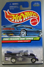 Hot Wheels 1:64 Scale 2000 Treasure Hunts Series DOUBLE VISION (PURPLE)