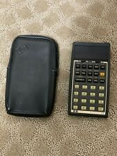 Vintage HP-37E Calculator w/Leather Case