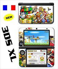 SKIN STICKER AUTOCOLLANT DECO POUR NINTENDO 3DSXL REF 177 SUPER MARIO LAND 3D