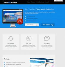 Complete Travel Affiliate Website Script Business! Make BIG Money! 100% Profit!
