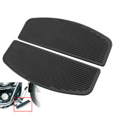 Front Rubber Rider Insert Floorboard Footboard Footrest Peg For Harley Touring