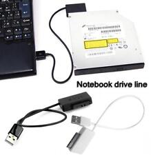 SATA to USB 2.0 Adapter Cable for Laptop CD DVD Rom 7+6 13Pin HDD Drive Adapter